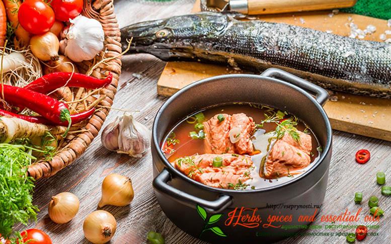 Рыбный суп со специями