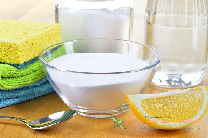 лимонная кислота в быту