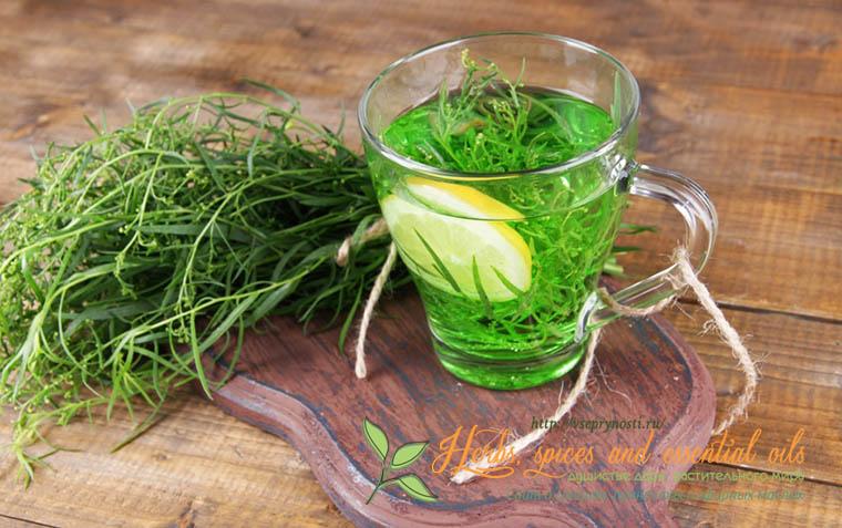 как приготовить напиток и травы тархун