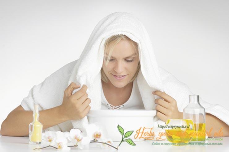 Ингаляции с эфирными маслами