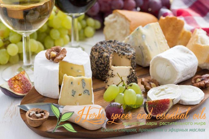 Специи для сыра