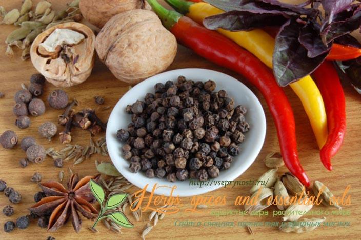 Гинекология и черный перец
