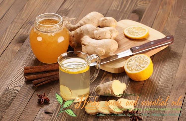чай с имбирем для похудения как употреблять