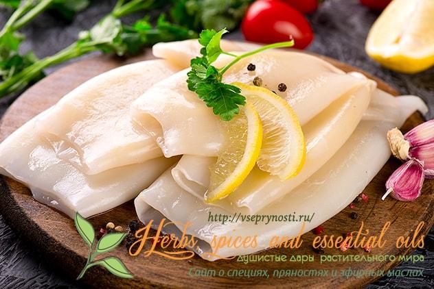 Как вкусно приготовить кальмары