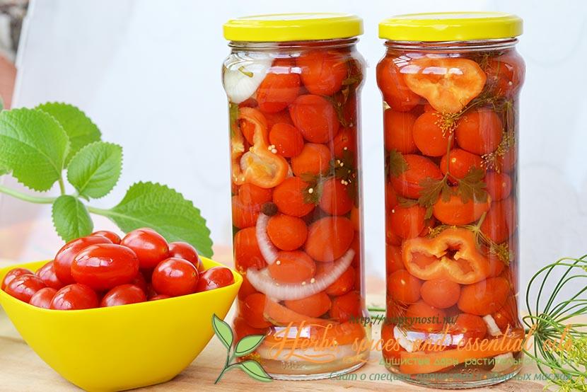 помидоры черри маринованные как в магазине рецепт