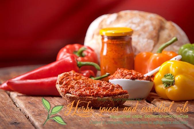 Рецепт приготовления перца