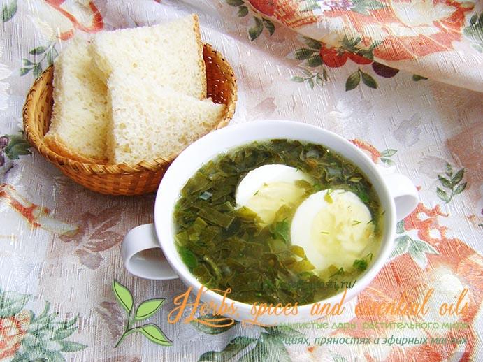 Зеленые супы