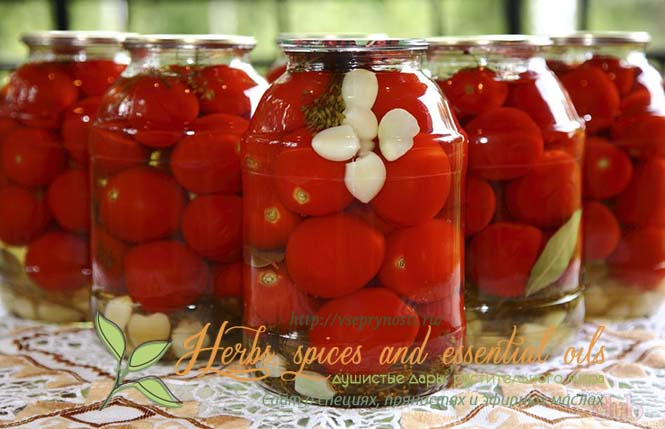 Консервация томатов