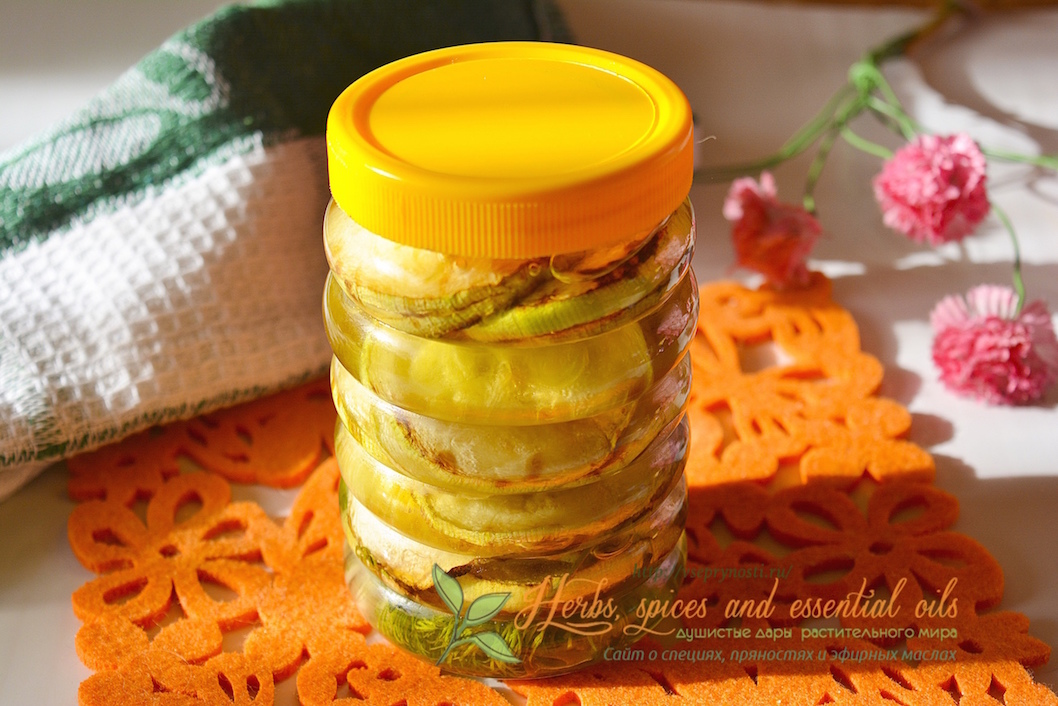 консервированные жареные кабачки на зиму