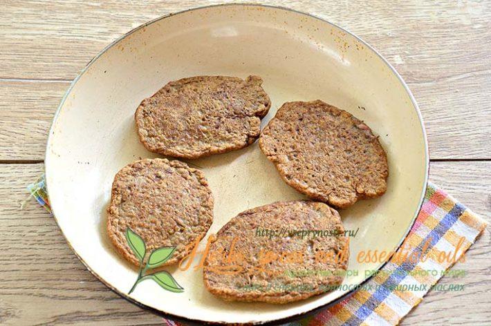 Печеночные оладушки из куриной печени рецепт