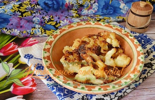 Как жарить цветную капусту на сковороде