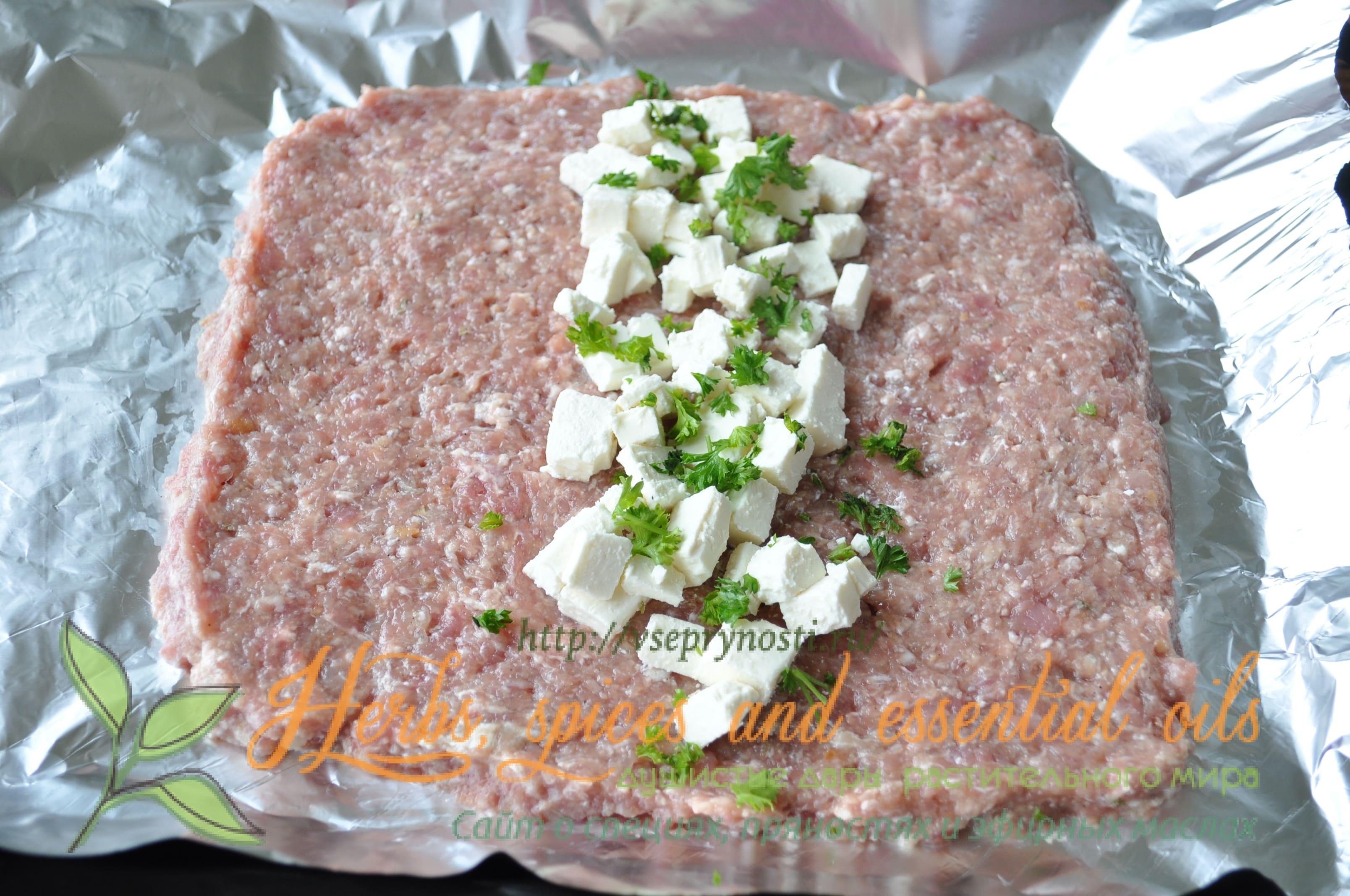 Мясной хлебец рецепт пошагово в