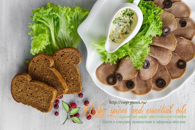 салаты с говяжьим языком рецепты с фото