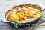 Миниатюра к статье Мясо по французски  с картофелем в духовке— простой и очень вкусный рецепт